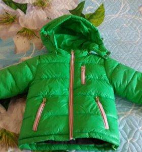 Куртка детская зимняя на 2х летнего мальчика