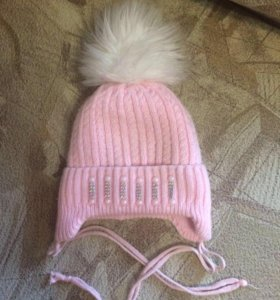 Зимние шапки девочку