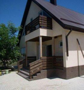 Каркасные дома любой сложности, а также бюджетные)