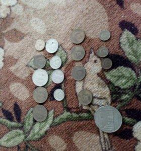 Ссср стариные бумажные денги и монеты