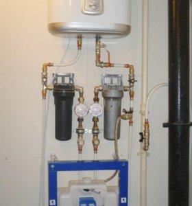 Установка,замена счетчиков учета воды