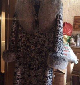 Женское пальто(зимнее)