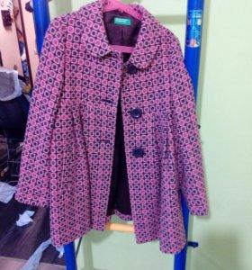 Пальто , рост 130см