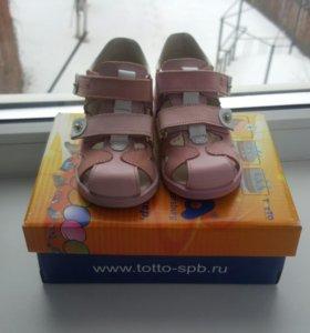 Новые Ортопедические сандали Тотто