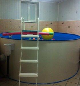 Продам бассейн с системой очистки