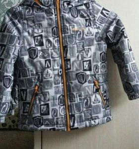 Куртка на мальчика р. 110-116
