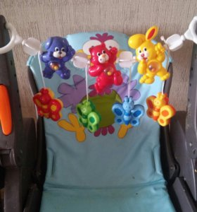 Пакетом игрушки на стульчик, коляску, автокресло