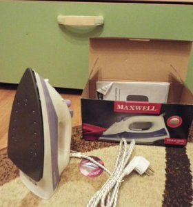 Новый паровой утюг Maxwell-3004