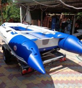 Badger Hd-370 + прицеп водник