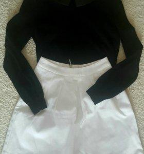 Кофта свитер юбка