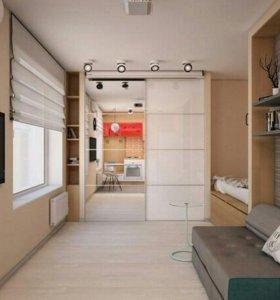 Внутренняя и наружная отделка: квартир, домов и тд