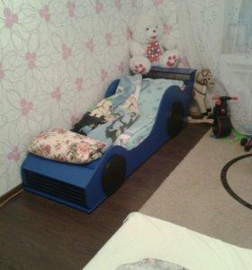 Кровать авто для ребенка