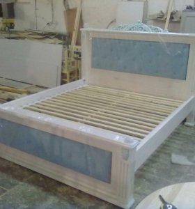 Кровать из массива сосны 2х спл.