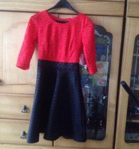 Платье ( одевалось 1 раз)