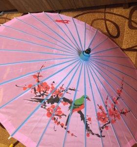 Китайский зонт бумажный Новый