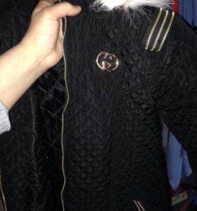 Куртка - пуховик женский