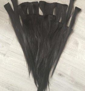 Искусственные волосы на заколках 8шт.