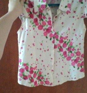 Рубашка на девочку)