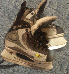 Хоккейные коньки 36 размер