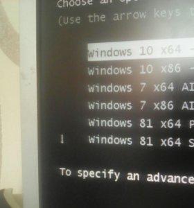 Установка Windows 7,8,8.1,10 :32 и 64 bit