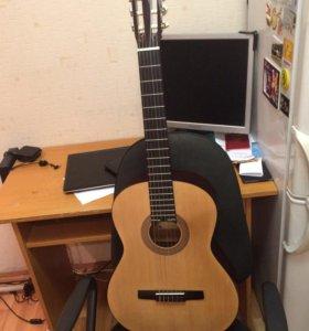 Гитара классическая с чехлом