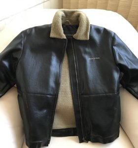 Кожаная куртка Marc O'Polo