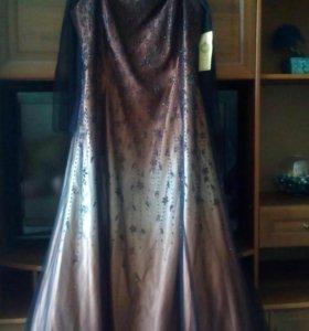 Новое платье с шарфиком.