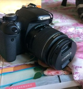 Canon EOS 600 D Kit 18-55 DC + 75 - 300 DC Black