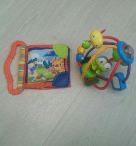 Развивающие игрушки Bright Starts.