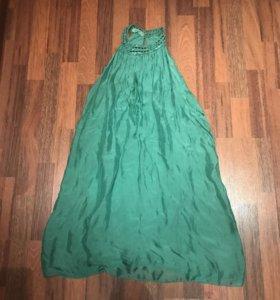 Итальянское платье из натурального шелка