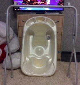 Детская Ванна cam BABY BAGNO на подставке