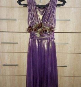 Новое платье (Италия), рамер S (36). (Без накидки)