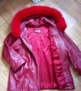 Куртка 52-54, кожа