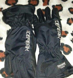 Перчатки- краги новые