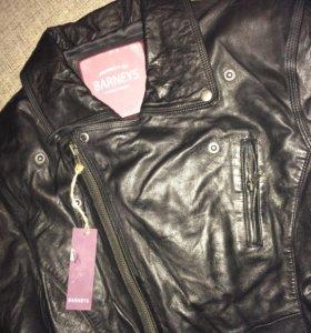 Новая куртка натуральная кожа с биркой размер L