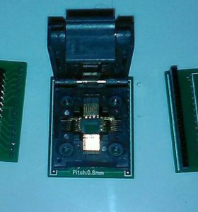 Адаптер qfp32 в dip32-dip28 для программатора