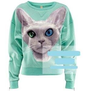 Свитшот с котом