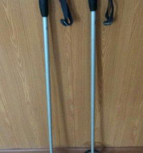 лыжные палки алюминий90см