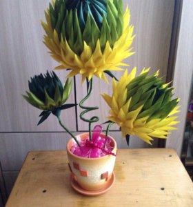 Трайной цветок