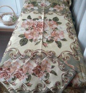Гобеленовый комплект: скатерть и 4 салфетки