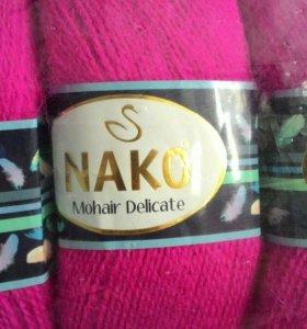 Пряжа Nako мохер деликат