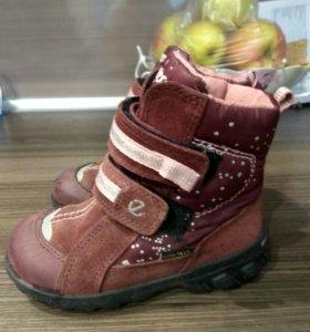Ecco ботинки 24р