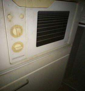 Микроволновка-шкаф