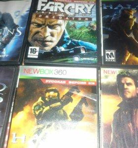 Продаются игровые диски в количечтве 15 штук.