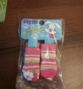 Носки для собаки размер S