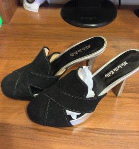 Новые туфли натуральная замша р 37