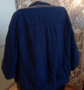 большая куртка 60-64р в идеале