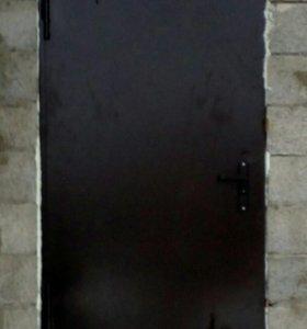 Дверь входная металлическая изготовлю на заказ