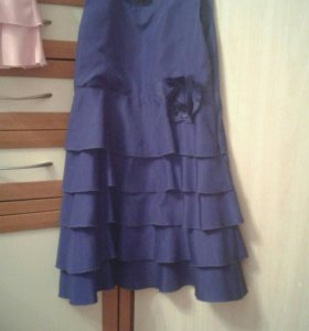 Платье(розовое,синее)