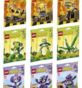 Lego Mixels 6 серия целиком